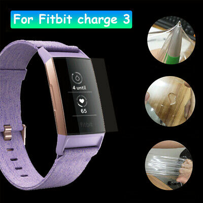 AU3.99 • Buy 3x For Fitbit Charge 4/ Charge 3/ Charge 2 Compact Hardness LCD Screen Protector