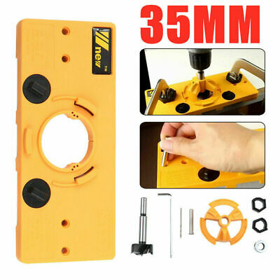 £13.99 • Buy Handheld Woodworking Guide Wood Dowel Drilling Hole Saw Doweling Jig Drill Kits