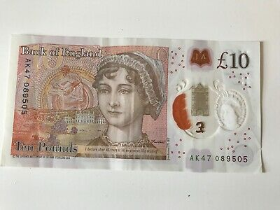 £14.01 • Buy Rare AK47 £10 Ten Pound Polymer Note Circulated Low Serial Number
