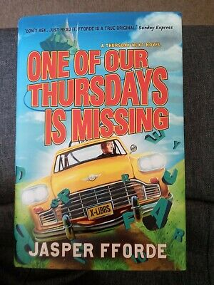 £0.99 • Buy One Of Our Thursdays Is Missing, Jasper Fforde, Book In VGC