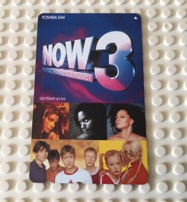 £0.99 • Buy Japan Phone Card Now That's What I Call Music 3 Nice Condition RARE