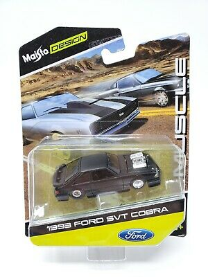 $24.95 • Buy Maisto Design Muscle Series 1993 Ford Mustang Svt Cobra 5.0 Foxbody New 1/64