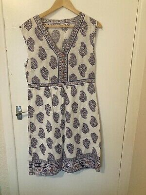 £15 • Buy Braintree Thought Indian Fabric Dress