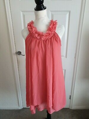 £5 • Buy River Island Coral Dress Size 8