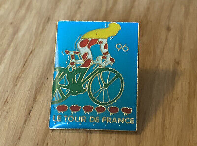 £3.89 • Buy Rare Vintage Tour De France 1996 Poster-Style Pin Badge Cycling Cyclist
