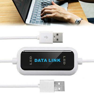 £9.12 • Buy 480Mb/s USB 2.0 Laptop PC To PC Online Data Link File Transfer Cable Bridge*