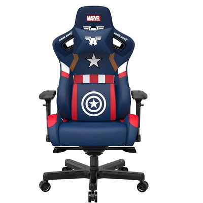 AU739.95 • Buy AndaSeat Marvel Captain America Edition Gaming Chair NEW PREORDER Sep 2021