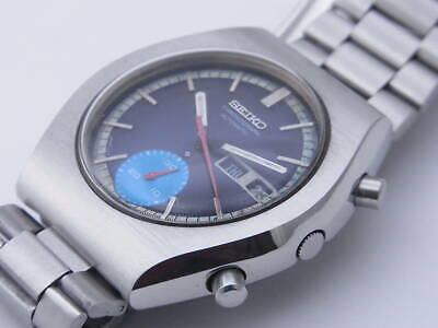 $ CDN664.67 • Buy Seiko 6139-8020 Vintage Chronograph Day Date Automatic Mens Watch Auth Works