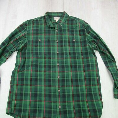 $22.97 • Buy Duluth Trading Co Shirt Mens XL Tall Flannel Long Sleeve Plaid Button Up