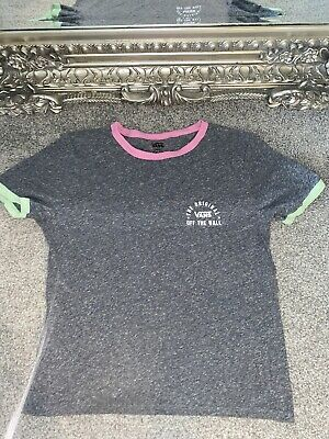 £11 • Buy Womens Small Vans On The Wall Grey Top