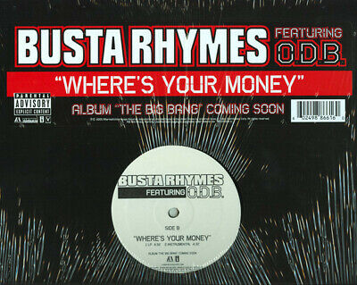 £14.99 • Buy Busta Rhymes Feat. O.D.B.* - Where's Your Money (12 )