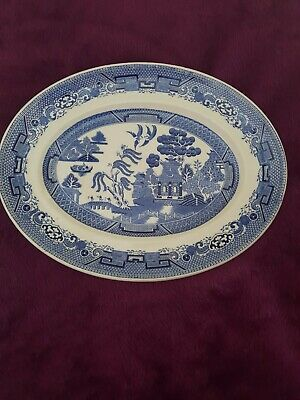 £5 • Buy Ridgway Willow Oval Plate
