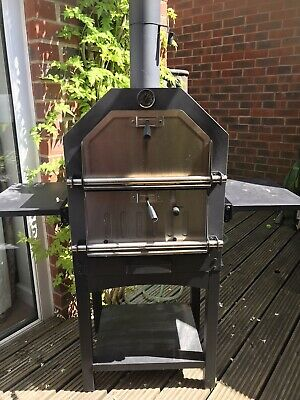 £100 • Buy Aldi Gardenline Pizza Oven Wood Or Charcoal BBQ Grill Smoker VGC