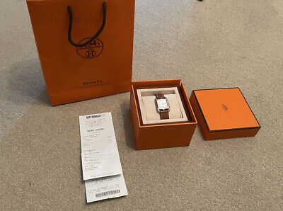 £1600 • Buy Hermes Cape Cod CC2.710 29mm Swiss Made Quarts Wristwatch, Boxed With Receipt