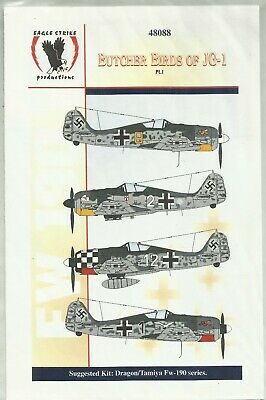 £10 • Buy Eagle Strike Productions (48088) Butcher Birds Of JG1 Part 1 In 1:48 Scale