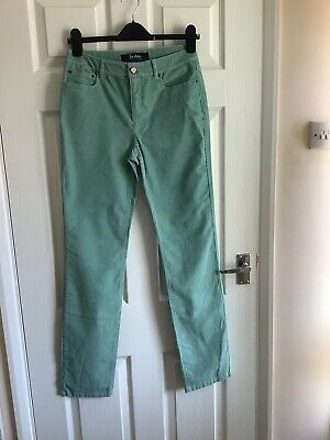 £4.95 • Buy Boden Size 8  Long Mint Green Straight Pin  Cord Jeans Nwotgs