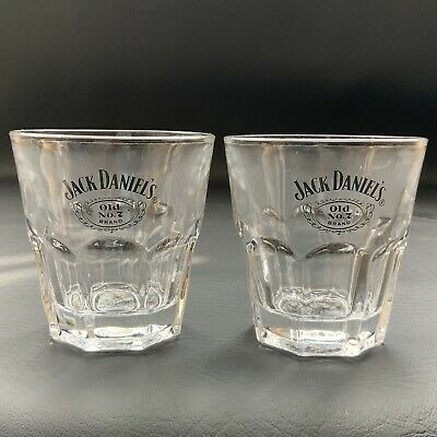 £11 • Buy Authentic Jack Daniels Old No 7 Whiskey Glass. Rare Design X2