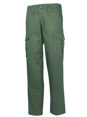 $22.92 • Buy Mil-com 6 Pocket Combat Trousers Olive  Clothing (70988)