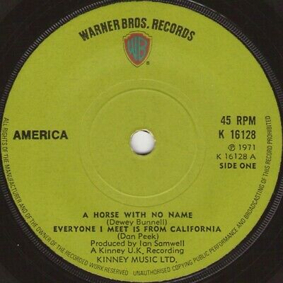 £13.49 • Buy America  - A Horse With No Name (7 , Sol)