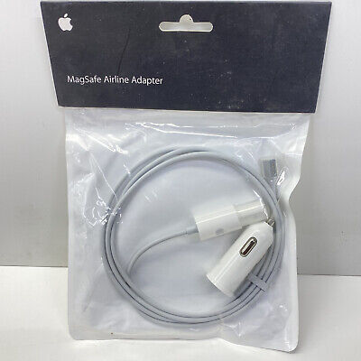 $12.99 • Buy Genuine Apple MagSafe Car & Airline Adapter MB441Z/A - NEW