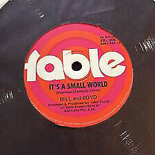 £7.99 • Buy Bill And Boyd - It's A Small World / Meanwhile Back In Abilene (7 , Single)