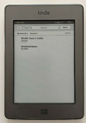 AU33 • Buy Amazon Kindle E-Reader 6  Touch WiFi + 3G 4th Generation