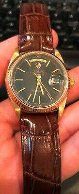 $ CDN11116.90 • Buy Rolex Vintage 18K Gold Oyster Perpetual DAY DATE PRESIDENT 18038 QUICKSET 36MM