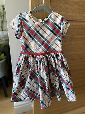 £2.99 • Buy Girls M&S Marks And Spencer Tartan Checked Party Dress 2-3 Years