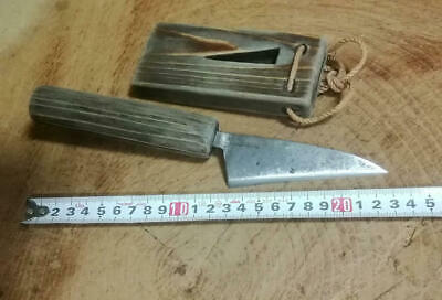 £58.63 • Buy 23 Cm Japanese Scrap Iron Cutlery Tools Old Furniture Folk Craft Antique Used