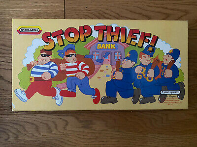 £5.80 • Buy Stop Thief Board Game Vintage 1985 Spears Games 100% Complete