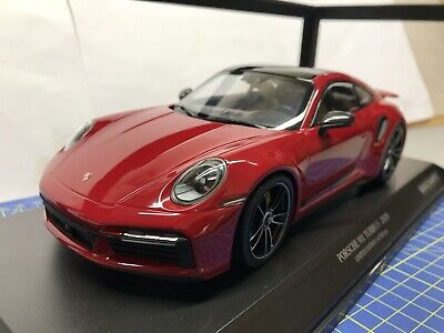 £125 • Buy 1/18 Minichamps - 2020 Porsche 911 (992) Turbo S - Red - New - Limited Edition