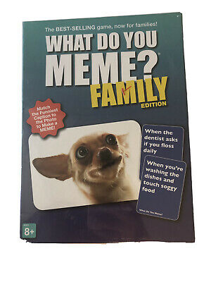 AU20.38 • Buy What Do You Meme? Family Edition -The Hilarious Family Game For Meme
