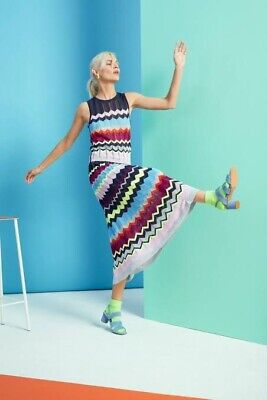 AU35 • Buy Gorman Neon Knit Top And Skirt Set Size 8