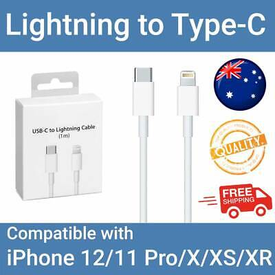 AU10.99 • Buy USB-C To Lightning Cable Charger For IPhone 12/11 Pro/X/XS/XR 8 Fast Charging AU