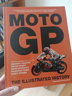 £18 • Buy Moto GP: The Illustrated History 5th Edition (2017)...Hardcover...New Copy