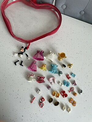 £10 • Buy Disney Parks Polly Pocket Minnie Mouse Rubber Dress Fashion Set Extras Toy