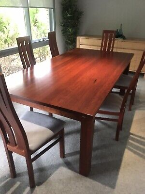 AU425 • Buy Red Gum Extendable Dining Table