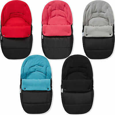 £11.49 • Buy Premium Car Seat Footmuff / Cosy Toes Compatible With Bebecar