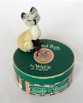 £24.99 • Buy Rare Wade Disney Hatbox No.14 Am From Lady And The Tramp Boxed