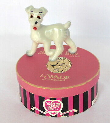 £74.99 • Buy Very Rare Wade Disney Hatbox No.3 Tramp From Lady And The Tramp In Colourway Box
