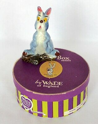 £144.99 • Buy Rare Wade Disney Hatbox No.22 Merlin The Hare From Sword And The Stone Boxed