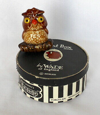 £149.99 • Buy Rare Wade Disney Hatbox No.25 Archimedes From Sword And The Stone Boxed