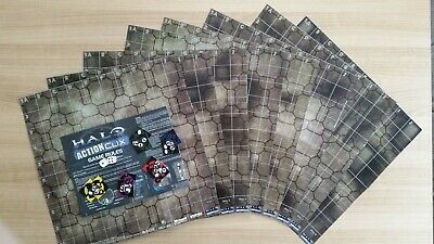 £9.95 • Buy 8) Halo Actionclix. BASIC GAME PRIMER - RULES, DICE, COUNTERS & 8 BOOSTER MAPS