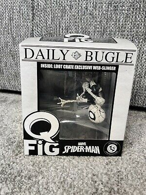 $ CDN10.37 • Buy Spiderman Daily Bugle Q Fig Marvel Collectable Loot Crate Exclusive Web Slinger