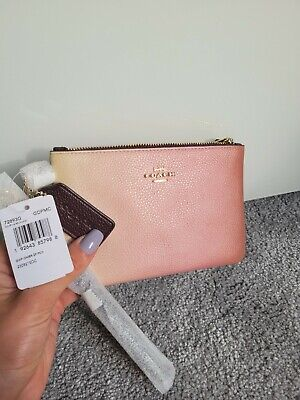 £40 • Buy Coach Wristlet Purse In Pink Ombre