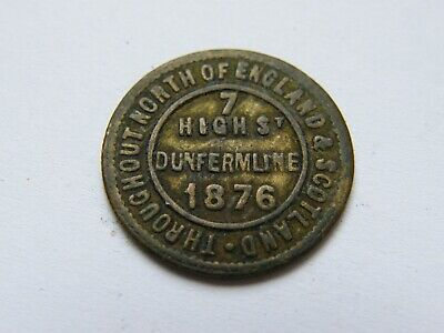 £1.04 • Buy Collectable Token The London And Newcastle Tea Company Check Dunfermline 1876