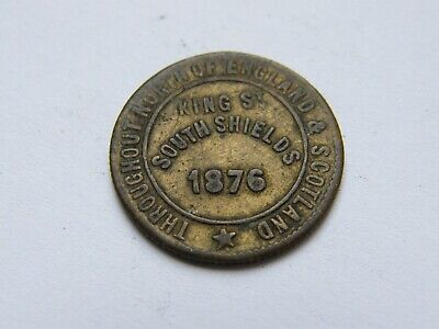 £0.99 • Buy Collectable Token The London And Newcastle Tea Company Check South Shields 1876