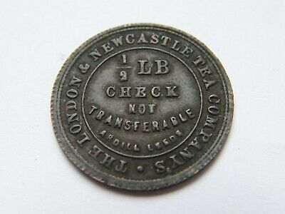 £0.99 • Buy Collectable Token The London And Newcastle Tea Company Check 1/2 Ardill Leeds BL