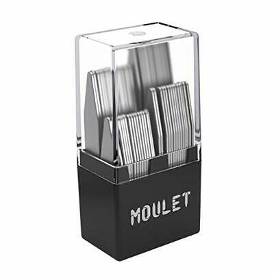 $23.62 • Buy 56 Metal Collar Stays For Men In A Divided Box - 4 Sizes By