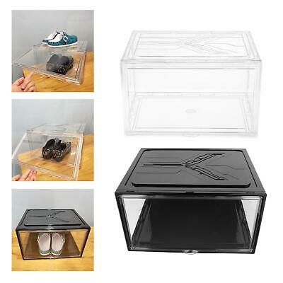 $39.77 • Buy Shoe Box Clear Shoe Storage Cabinet Drawer Front Opening For Women/Men